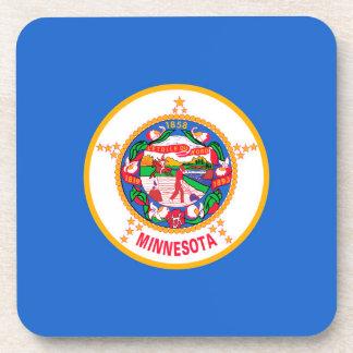 Minnesota State Flag Design Drink Coaster