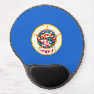 Minnesota State Flag Design Gel Mouse Pad