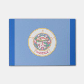 Minnesota State Flag Design Sticky Notes
