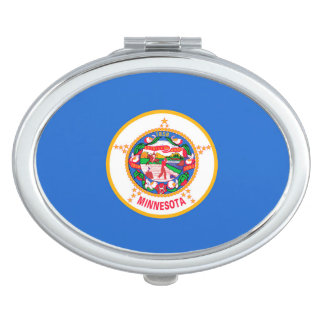 Minnesota State Flag Design Travel Mirror