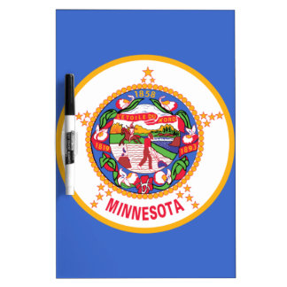 Minnesota State Flag Dry Erase Boards