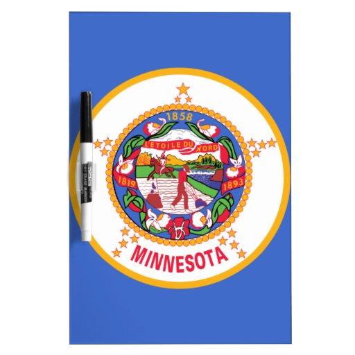 Minnesota State Flag Dry Erase Boards