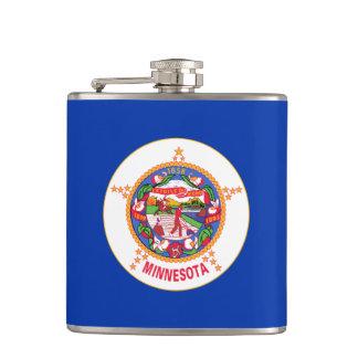 Minnesota State Flag Flask