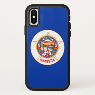 Minnesota State Flag iPhone X Case