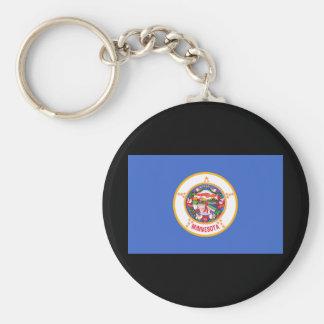 Minnesota State Flag Keychain