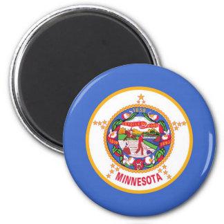 Minnesota State Flag Fridge Magnet