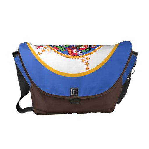 Minnesota State Flag Courier Bags