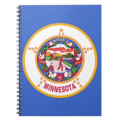 Minnesota State Flag Notebooks