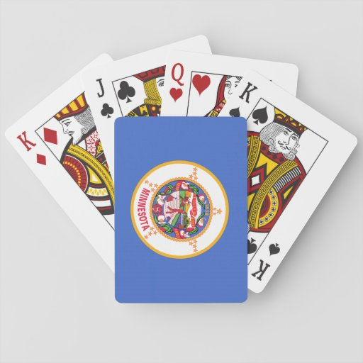 Minnesota State Flag Deck Of Cards