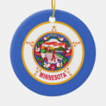 Minnesota State Flag Ornament