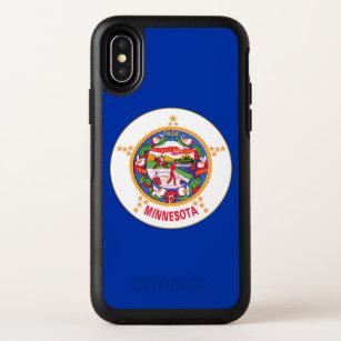 Minnesota State Flag OtterBox Symmetry iPhone X Case