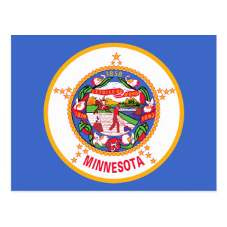 Minnesota State Flag Postcards