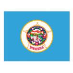 Minnesota State Flag Postcard