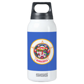 Minnesota State Flag 10 Oz Insulated SIGG Thermos Water Bottle