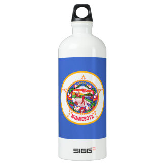 Minnesota State Flag SIGG Traveller 1.0L Water Bottle