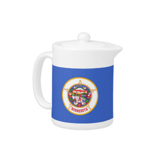 Minnesota State Flag Teapot