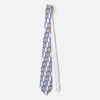 Minnesota state flag text tie