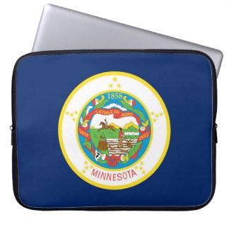Minnesota state flag usa united america symbol laptop sleeve