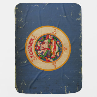 Minnesota State Flag VINTAGE.png Buggy Blanket