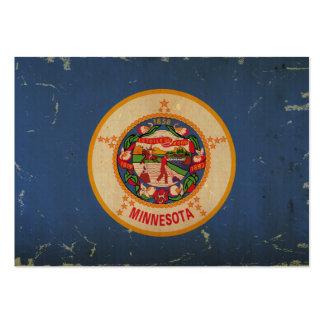 Minnesota State Flag VINTAGE.png Business Cards