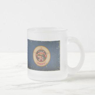 Minnesota State Flag VINTAGE.png Coffee Mugs