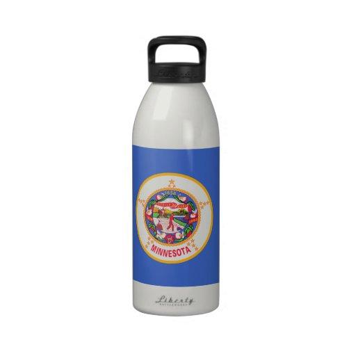 Minnesota State Flag Water Bottle