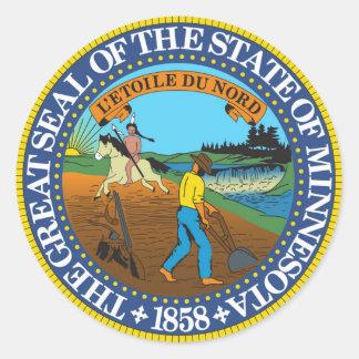 Minnesota state seal america republic symbol flag