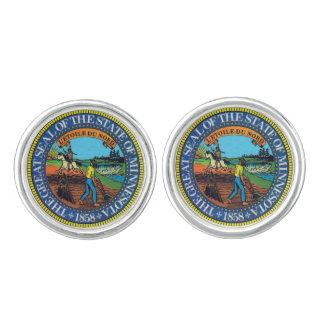 Minnesota State Seal Cufflinks