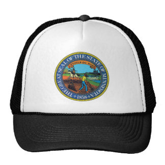 Minnesota State Seal Hats