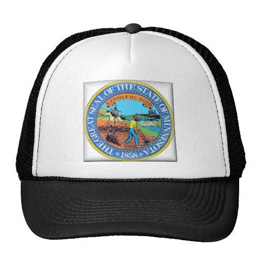 Minnesota State Seal Trucker Hats