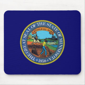 Minnesota State Seal Mouse Pad