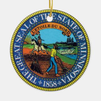 Minnesota State Seal Ornament