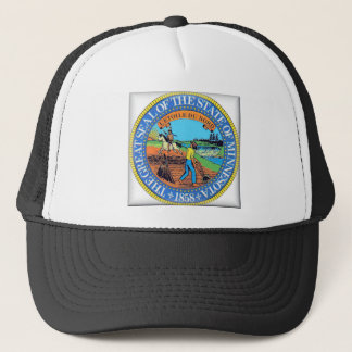 Minnesota State Seal Trucker Hat