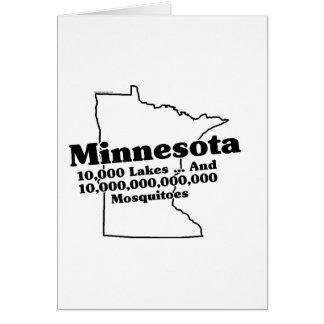 Minnesota State Slogan Card