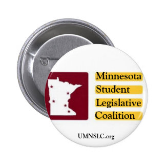 Minnesota Student Legislative Coalition Button