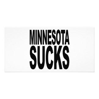 Minnesota Sucks Photo Card