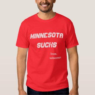 minnesota sucks tshirts