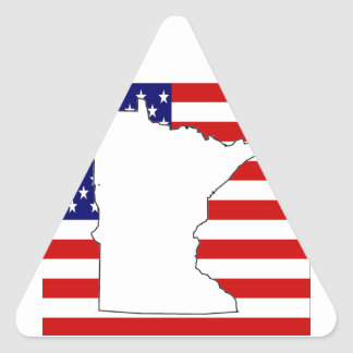 MINNESOTA TRIANGLE STICKER