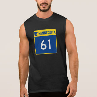 Minnesota Trunk Highway 61 Sleeveless Shirt