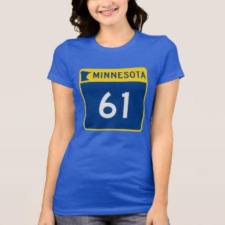 Minnesota Trunk Highway 61 T-shirts