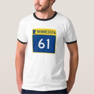 Minnesota Trunk Highway 61 Tee Shirts