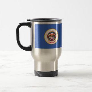 Minnesota, United States flag Coffee Mug