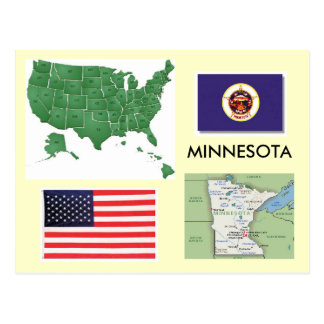 Minnesota, USA Postcard