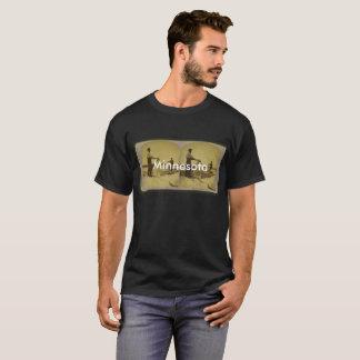 Minnesota vintage ice harvest t-shirt