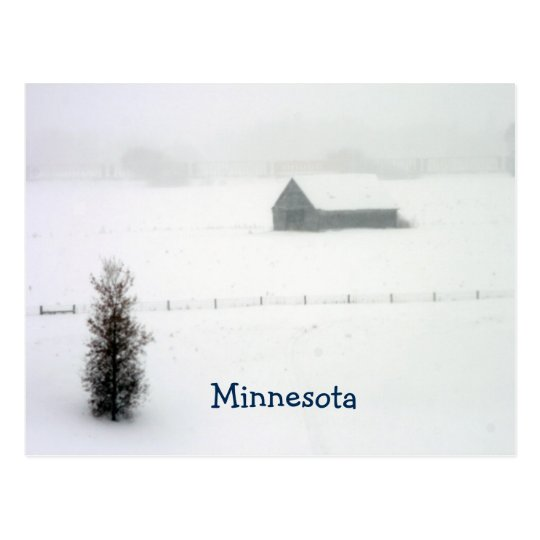 Minnesota Winter Post Card