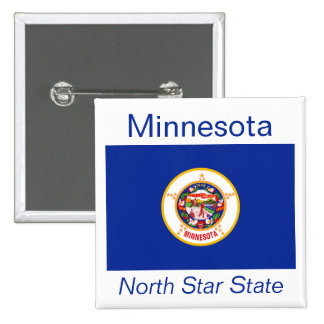 Minnesotan Flag Button