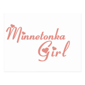 Minnetonka Girl tee shirts Post Card
