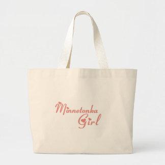 Minnetonka Girl tee shirts Tote Bags