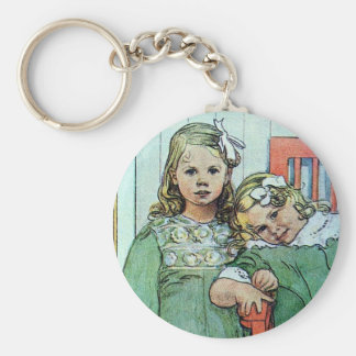 Minni un Essi Sisters Together Basic Round Button Key Ring