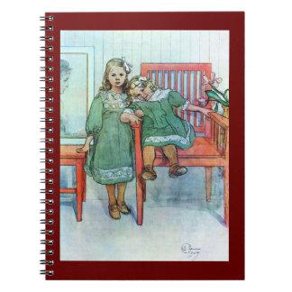 Minni un Essi Sisters Together Spiral Note Books